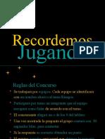 Concurso definiciones GESTION DEL RIESGO