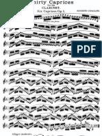 [Clarinet_Institute] Cavallini Op 1