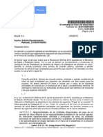 Concepto Jurídico 201911600914091 de 2019