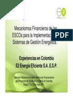 ESCOS EN COLOMBIA