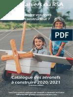 2020-2021 Catalogue Aviateur Constructeur Federation RSA