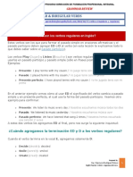 Annex A -REGULAR & IRREGULAR VERBS  Grammar Review