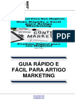 Guia Rapido e Facil Para Artigo Marketing