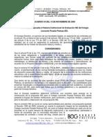 SISTEMA INSTITUCIONAL DE EVALUACIÓN (2010)