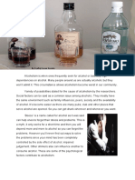 Causes And Effect - Why Alcohol