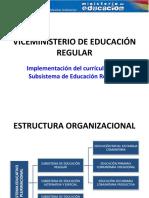 VICEMINISTERIO+DE+EDUCACION+REGULARt.pps