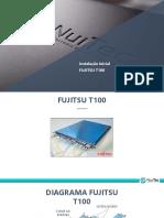 Instalação inicial Fujitsu