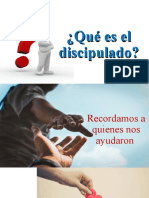 Que es el discipulado. dominical