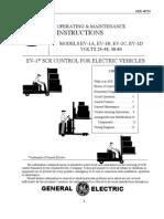 EV1 SCR Motor Controller