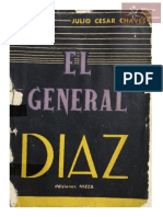 El General Díaz . Julio César Chaves