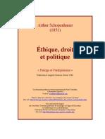 Schopenhauer - Ethique_droit et politique_ (1).rtf