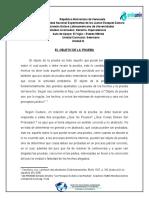 MODULO 3. OBJETO DE LA PRUEBA .