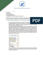 INFORME DE LA SECRETARIA NACIONAL DE PRENSA de ingrid