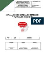 1841-C-PR-PROCDT-124 PPROCEDIMIENTO DE INST. DE SIST. DE DETECCIÓN Y ALARMA DE INCENDIO.pdf