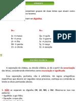 Gramática - Aula 11 - Separação de Sílabas