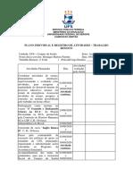 Plano Individual e Registro de Atividades - SCRIBD