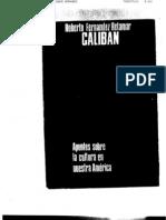 Roberto Fernandez Retamar, Calibán