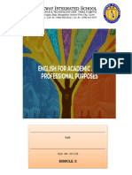 LESSON 2-LANGUAGE USE IN ACADEMIC WRITING