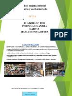 presentacion analisis  organizacional papeleria y cachareria la reyna