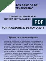 ASPECTOS BASICOS DEL EXTENSIONISMO