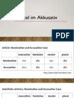 Arkitel Im Akusativ