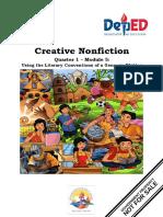 Creative Nonfiction Q1 M5