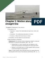 C2. Motion