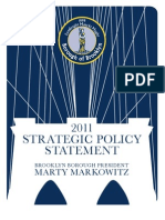 2011 Strategic Policy Statement Marty Markowitz