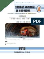 METODO DE CONSTRUCCION DE TUNELES