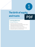 The Birth of Equity