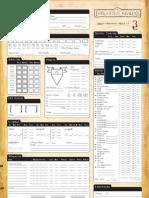 Forgotten Realms 3.5E Character Sheet 1.7