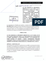 Nuevo proyecto de ley de devolución de aportes a fonavistas