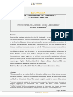 2. ANÁLISE TEÓRICO-EMPÍRICO DA EVASÃO FISCAL