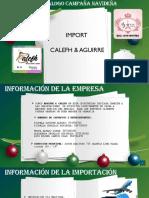 CATALOGO CALEFH & AGUIRRE IMPORT DICIEMBRE 2020