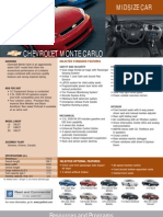 Chevrolet Montecarlo Fleet 2007 (USA)