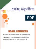 schedulingalgorithms and algorithm evaluation (1)