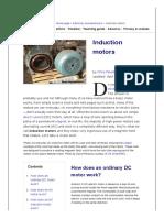 AC induction motors _ How AC motors work
