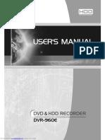 ellion dvr960 e DVD RECORDER USER MANUAL