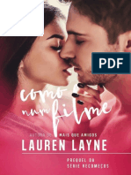 Recomeços Prequel - Como num filme - Lauren Layne