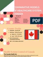 CANADA health system