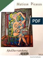 Coteau, Matisse, Picasso, Méditerranée