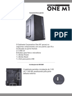 32373 Manual Gabinete One m1 Ok