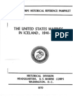 The United States Marines in Iceland 1941-1942
