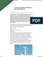 As tarifas de uso da rede para BT e os custos das distribuidoras