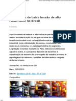 Os motores de baixa tensão de alto rendimento no Brasil