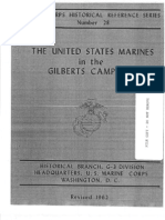 The United States Marines in the Gilberts Campaign