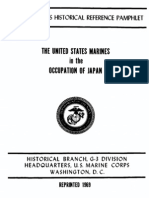 The United States Marines in the Occupation of Japan