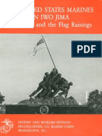 The United States Marines on Iwo Jima the Battle and the Flag Raisings