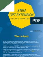 STEM OPT Ext 2020 Workshop