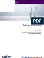 Reliance Case Study
